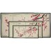 "<strong>Oriental Furniture</strong> 24"" Plum Blossom 4 Panel Room Divider"