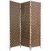 "<strong>Oriental Furniture</strong> 71"" x 54"" Island Outdoor 3 Panel Room Divider"