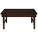 Oriental Furniture Rosewood Korean Coffee Table