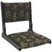 Oriental Furniture Zaisu Tatami Fabric Slipper Chair