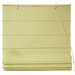 Cotton Roman Shades Blinds in Yellow Cream