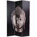 Double Sided Buddha Canvas Room Divider