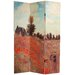 Double Sided Works of Monet Canvas Room Divider