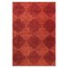 Bashian Rugs Chelsea Red Floral Sun Area Rug
