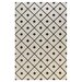 <strong>Bashian Rugs</strong> Verona Ivory / Black Diamond Lattice Rug