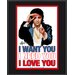 "Elvis Presley ""I Want You, I Need You, I Love You"" Plaque"