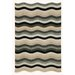 <strong>Liora Manne</strong> Carlton Black Waves Indoor/Outdoor Rug