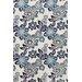 Liora Manne Ravella China Blue Floral Outdoor Area Rug