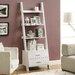 "Monarch Specialties Inc. Ladder 69"" Bookcase"