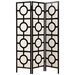 "Monarch Specialties Inc. 71"" x 52"" Frame Folding 3 Panel Room Divider"