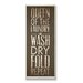<strong>Stupell Industries</strong> Home Décor Queen of Laundry Typography Bath Textual Art Plaque