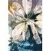 Parvez Taj Blue Water Graphic Art Plaque