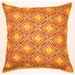 <strong>Sun Swirl Knife Edge Pillow (Set of 2)</strong> by Creative Home