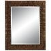 Checkers Wall Mirror in Natural