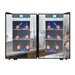<strong>12 Bottle Dual Zone Thermoelectric Wine Refrigerator</strong> by Vinotemp