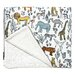 <strong>Safari Stroller Blanket</strong> by DwellStudio