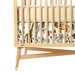 <strong>Safari Percale Crib Skirt</strong> by DwellStudio