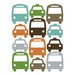 Cars Wall Decal by DwellStudio