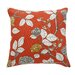 <strong>Leda Peony Persimmon Pillow</strong> by DwellStudio