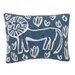 DwellStudio Safari Knitted Boudoir Pillow