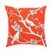 <strong>Vintage Blossom Persimmon Pillow</strong> by DwellStudio