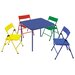 <strong>Cosco Home and Office</strong> Kids 5 Piece Rectangle Table and Chair Set
