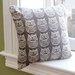 LaMont Owl Pillow