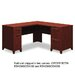 <strong>Enterprise L-Shaped Desk</strong> by Bush Industries