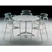 <strong>Knoll ®</strong> Jorge Pensi 5 Piece Round Table with Toledo Stacking Chairs