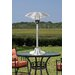 Stainless Steel Table Top Round Halogen Electric Patio Heater