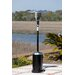 <strong>Hammer Tone and Stainless Steel Commercial Patio Heater</strong> by Fire Sense