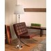 Muses Erato Floor Lamp in Lead Crystal
