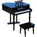 <strong>30 Key Classic Baby Grand Piano in Black</strong> by Schoenhut