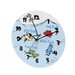 "Trend Lab Dr. Seuss 1 Fish 2 Fish 11"" Wall Clock"
