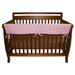Maya Dot 51&quot; Front Crib Rail Cover