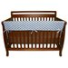 "Max Dot 51"" Front Crib Rail Cover"