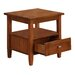 Simpli Home Warm Shaker End Table