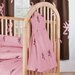 Pink Buckmark Crib 3 Piece Set