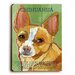 <strong>Chihuahua Wood Sign</strong> by Artehouse LLC