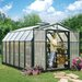 """<strong>Hobby Gardener 2 Twin Wall 6' 9"""" H x 8' 8"""" W x 12' 9"""" D Polycarbona...</strong> by Rion Greenhouses"""