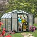 """<strong>Hobby Gardener 2 Twin Wall 6' 9"""" H x 8' 8"""" W x 8' 8"""" D Polycarbonat...</strong> by Rion Greenhouses"""