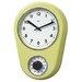 "<strong>8.5"" Kitchen Timer Retro Modern Wall Clock</strong> by Bai Design"