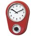 "<strong>8.5"" Kitchen Timer Retro Modern Wall Clock</strong> by Bai Design"