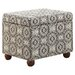 <strong>Medium Storage Ottoman</strong> by Kinfine