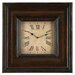 Toscana Rectangular Wood Clock