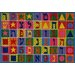 <strong>Fun Rugs</strong> Supreme Hebrew Numbers and Letters Kids Rug
