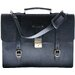 <strong>Palermo Saddle Leather Briefcase</strong> by Leatherbay