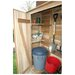 Garden Chalet 4ft. W x 24in. D Wood Lean-To Shed by Outdoor Living Today