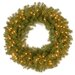 "<strong>Norwood Fir 30"" Pre-Lit Wreath</strong> by National Tree Co."