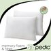 <strong>Memory Plus Classic Memory Foam and Fiber Pillows (Set of 2)</strong> by BioPEDIC